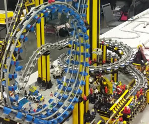 Awesome LEGO Roller Coaster