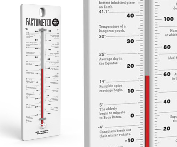 Factometer Thermometer