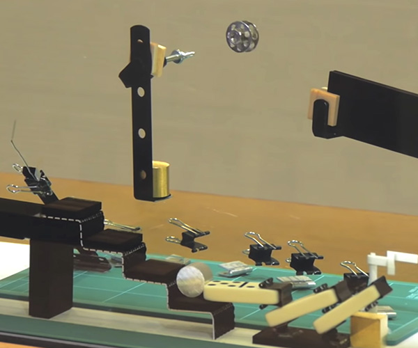 Invisible Rube Goldberg Machine