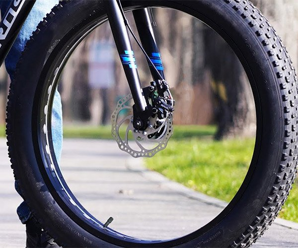 Invisible Bike Wheels
