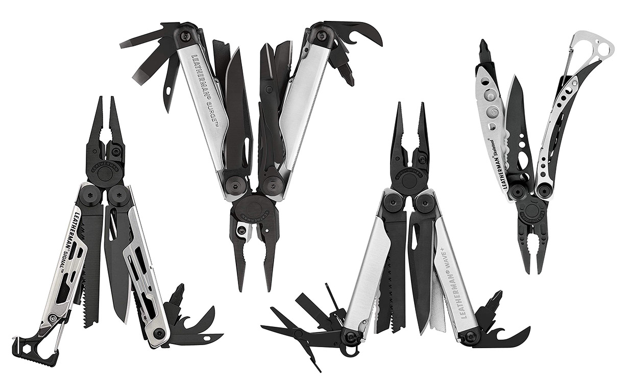 Leatherman Black and Silver