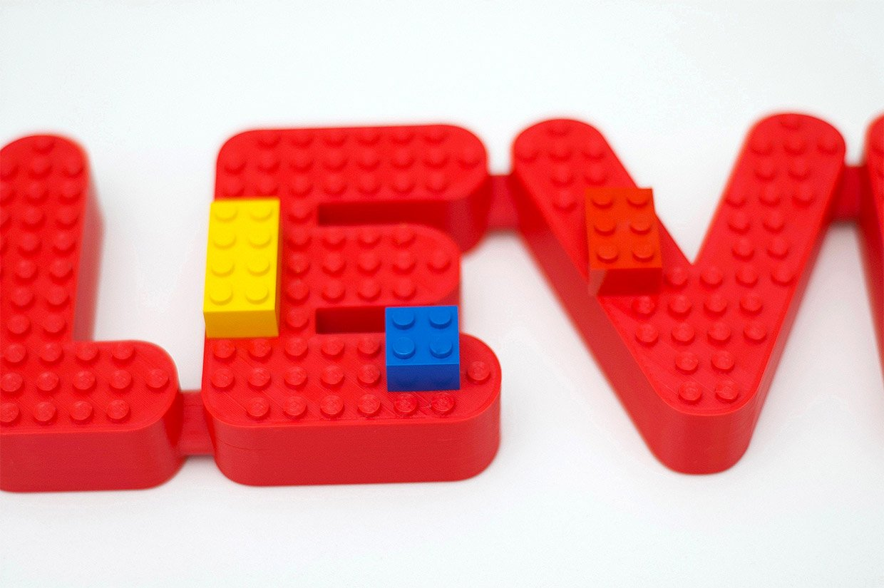 Personalized LEGO Name Signs