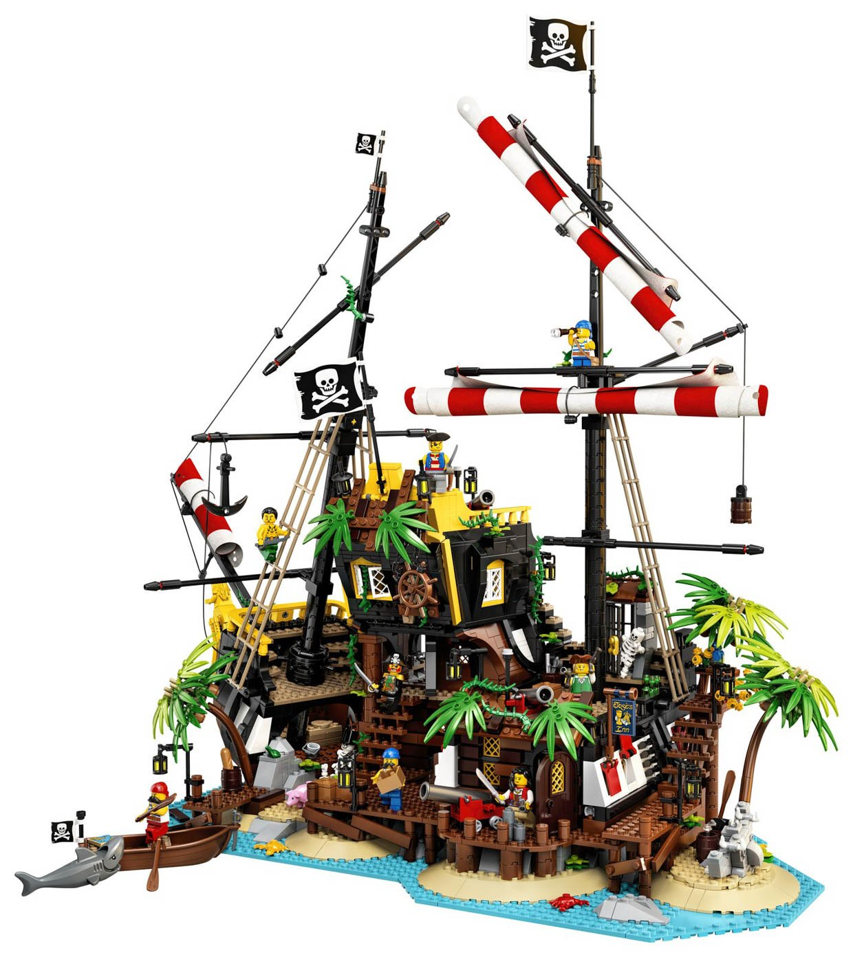 Build A Pirate Shipwreck With The Lego Ideas Pirates Of