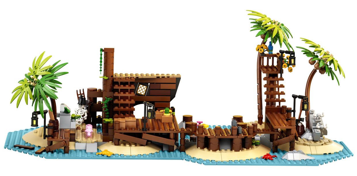 LEGO Ideas Pirates of Barracuda Bay