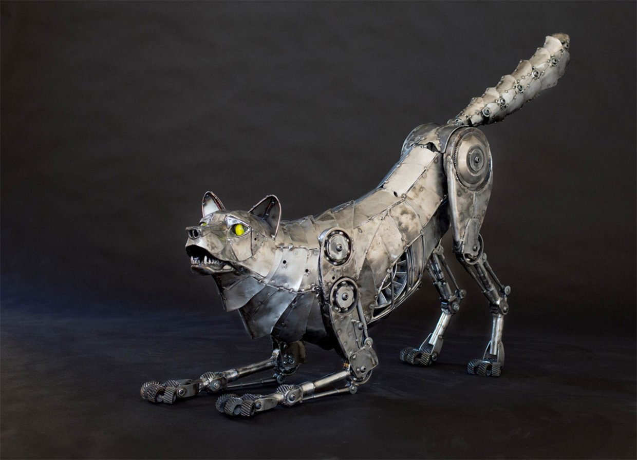 Metal Animals by Andrew Chase