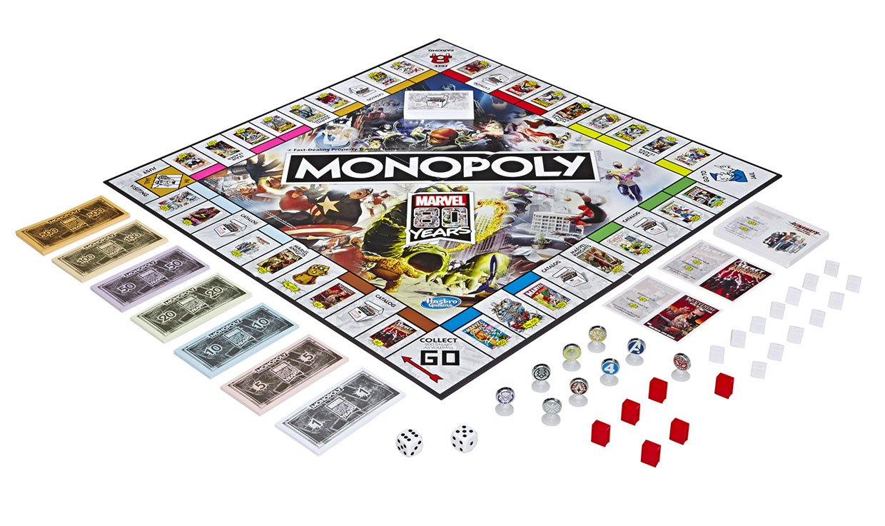 Monopoly: Marvel 80 Years Edition