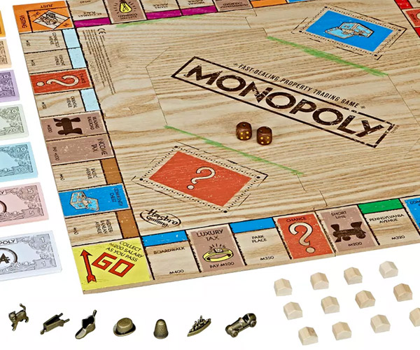 Monopoly Rustic Edition