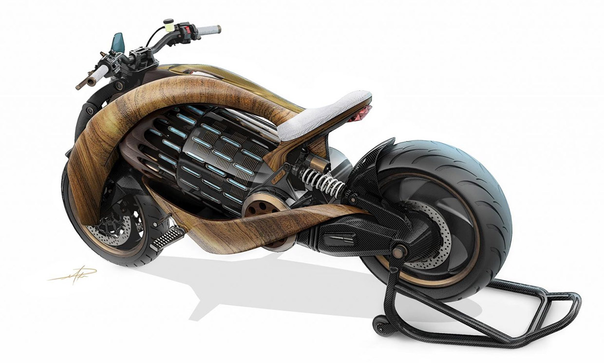 Newron Motors EV-1 Motorcycle