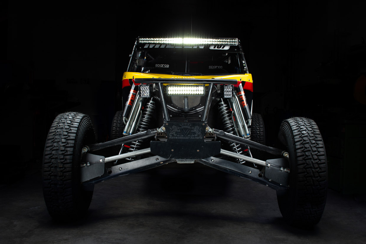 The Jackal Trophy Car UTV
