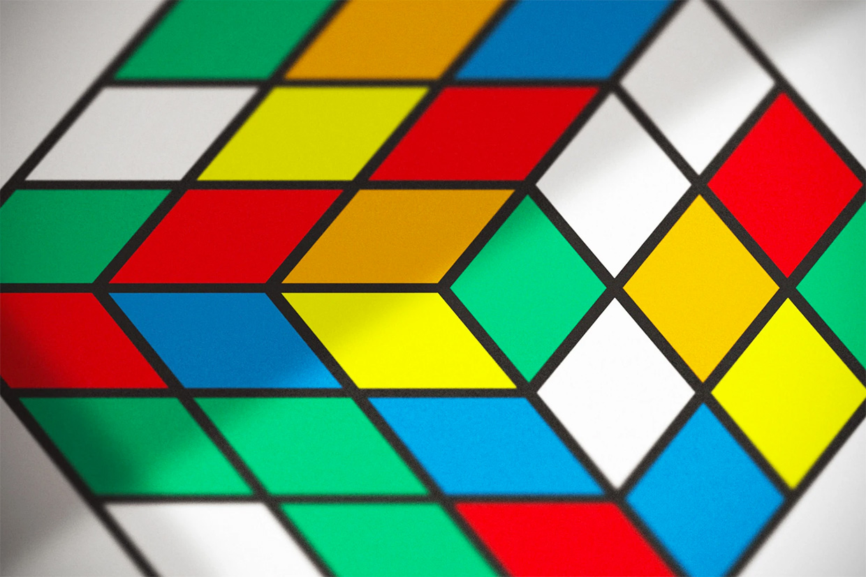 Rubik's Cube Fine Art Print
