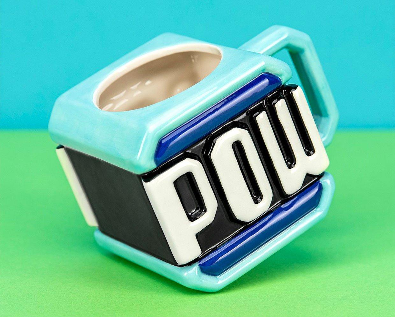 Mario Brothers Pow Block Mug