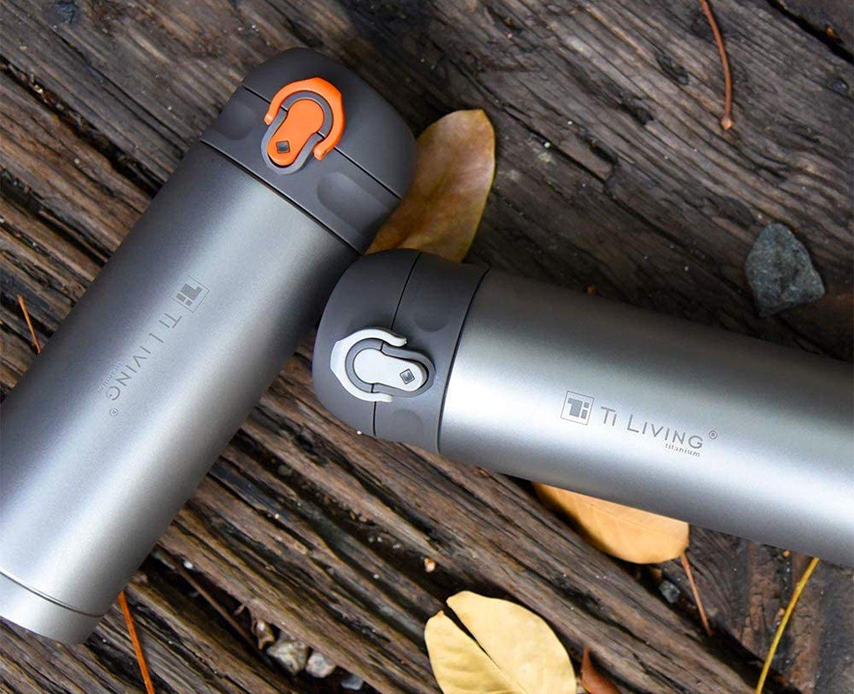TiLiving Titanium Vacuum Bottle