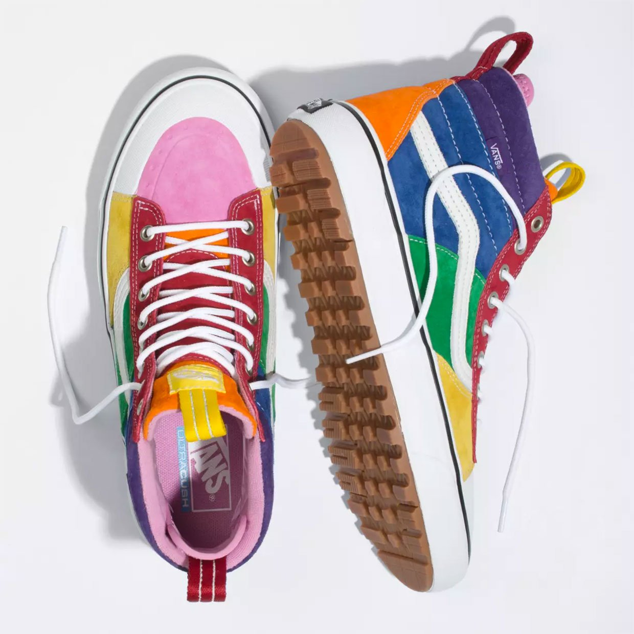 vans sk8 hi mte 2 0 dx bring a rainbow regardless of the weather vans sk8 hi mte 2 0 dx rainbow