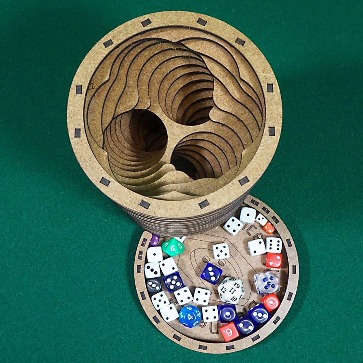 Big Wormhole Dice Tower