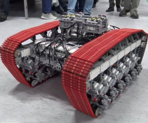 Monster LEGO Technic Tank