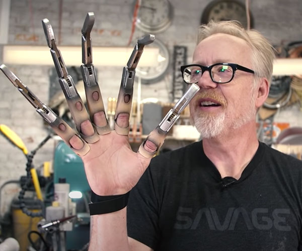 Adam Savage's Mechanical Claws