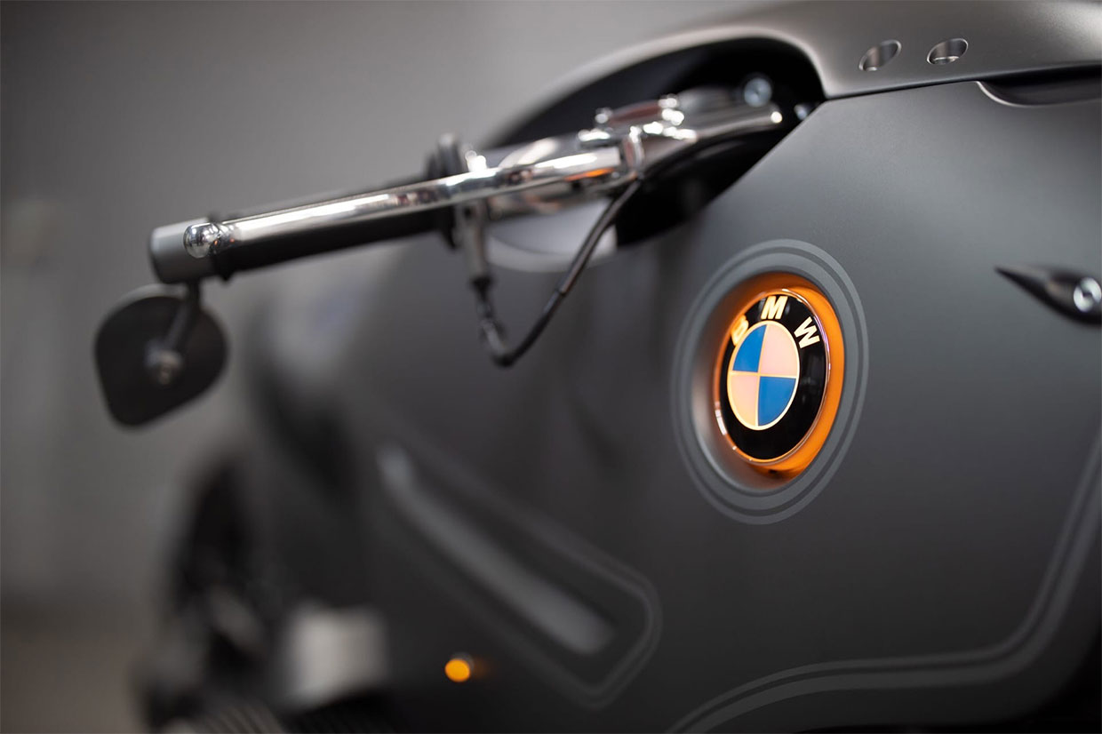 BMW R9T Custom Motorcycle