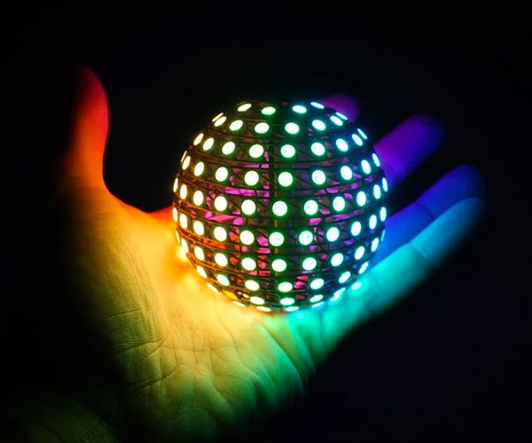 Making an LED Sphere Ornament