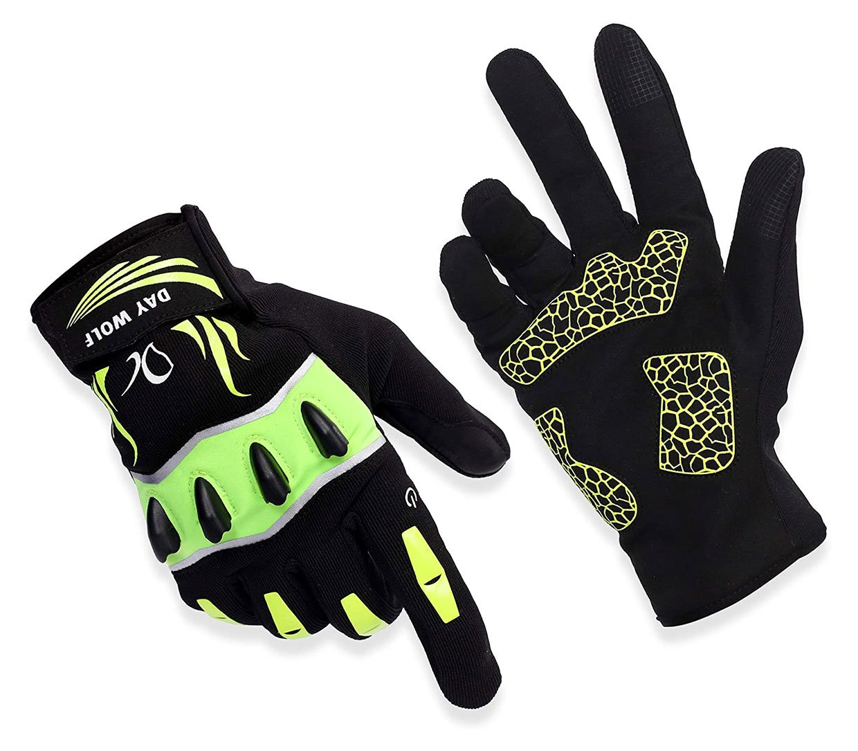 Day Wolf Flashlight Gloves