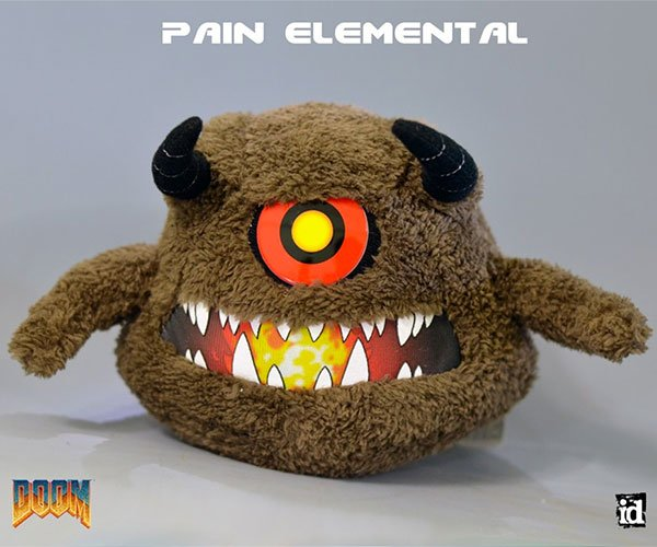 Gaming Heads DOOM Plushes