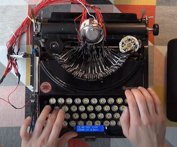Typewriter Drum Machine