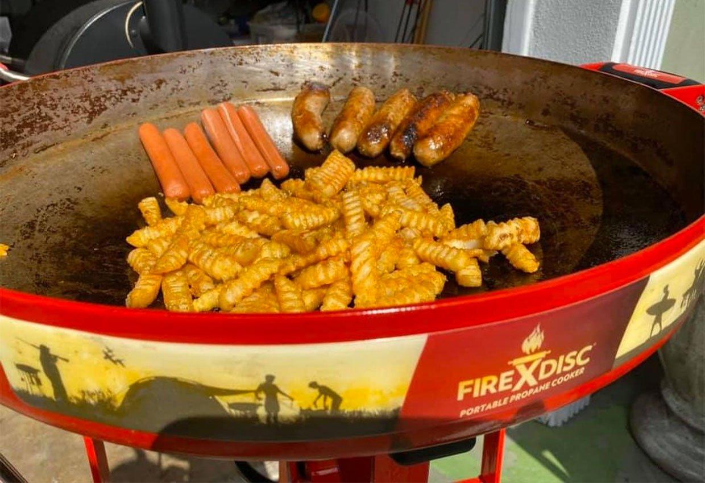 Firedisc Propane Cooker