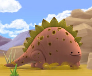 Graham the Stegosaurus