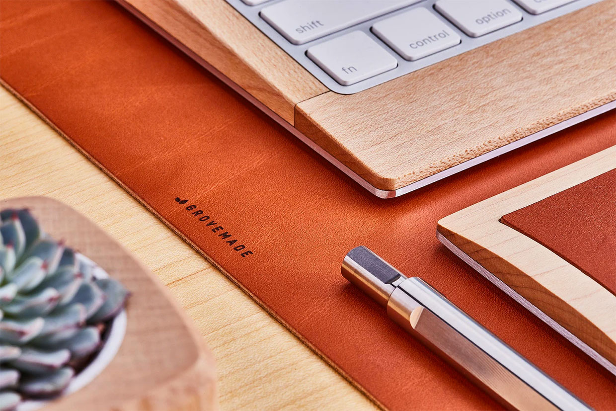 Grovemade Leather Desk Pads