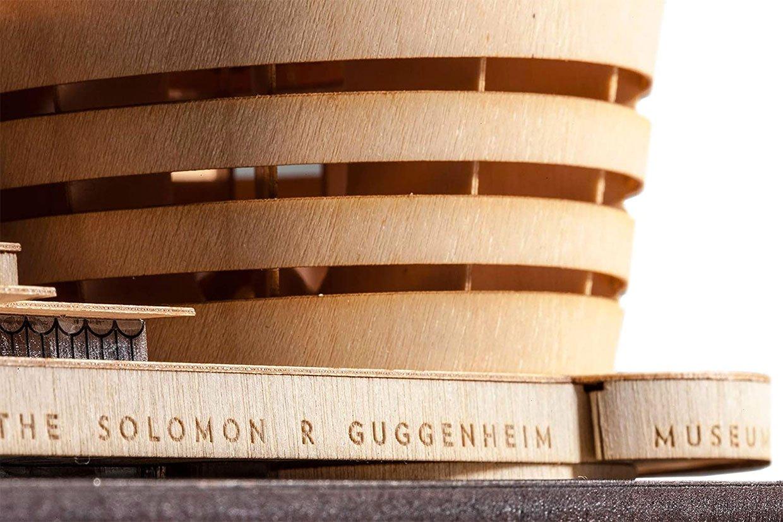 Guggenheim Museum Wood Model