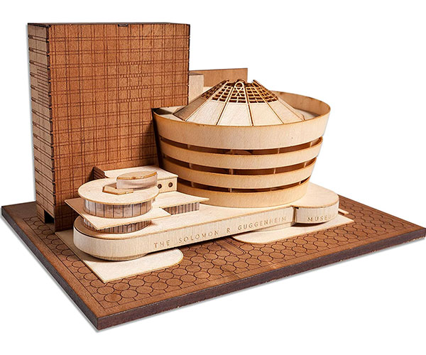 Guggenheim Museum Wood Model