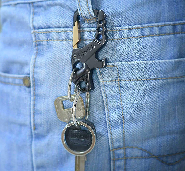 Hephis Carabiner Keychain