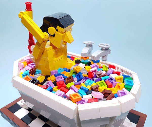 LEGO Bath Time Automaton