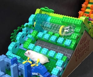 LEGO Hamster Obstacle Course