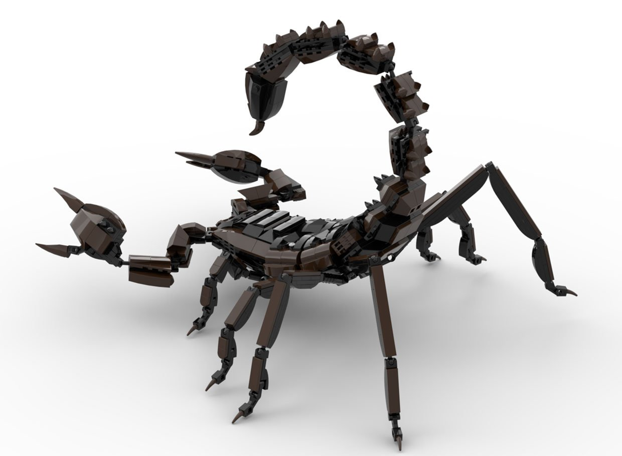 LEGO Ideas Emperor Scorpion