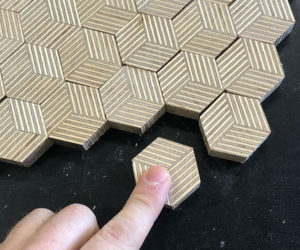 Making Hexagon Plywood Patterns