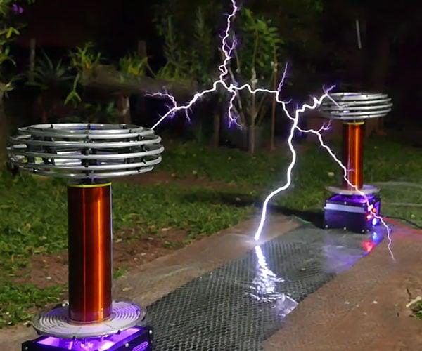 Megalovania on Tesla Coils