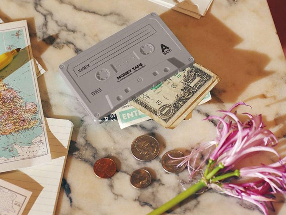 Money Tape Wallet