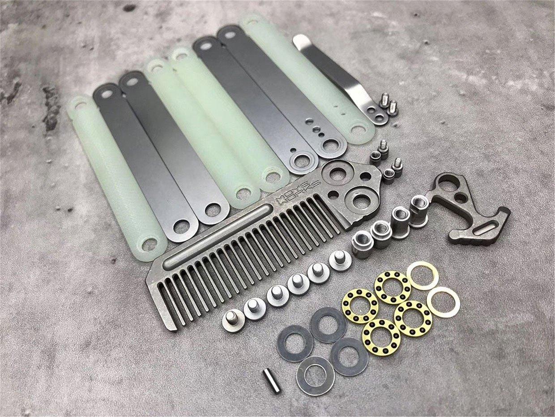 Moye Works Titanium Comb