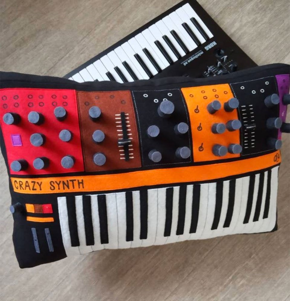 Synthesizer Pillows