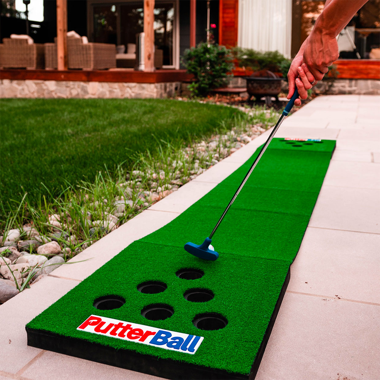 PutterBall Backyard Golf Game