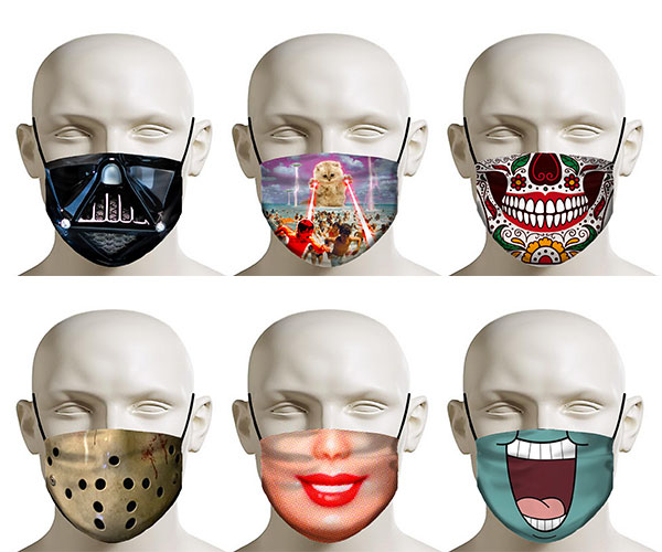 RageOn! Face Masks