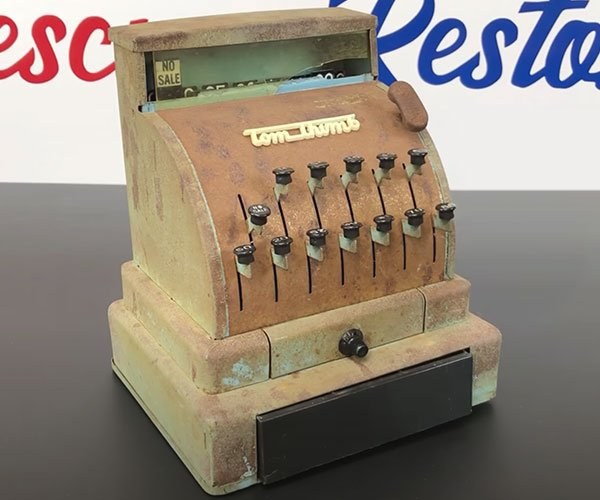 Restoring a Toy Cash Register