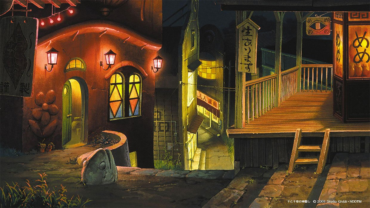 Studio Ghibli Meeting Backgrounds