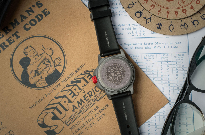 The Kryptonian Decoder Watch