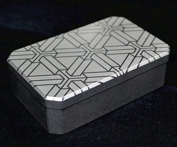 Titanium Match Box