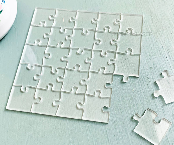 Transparent Jigsaw Puzzles