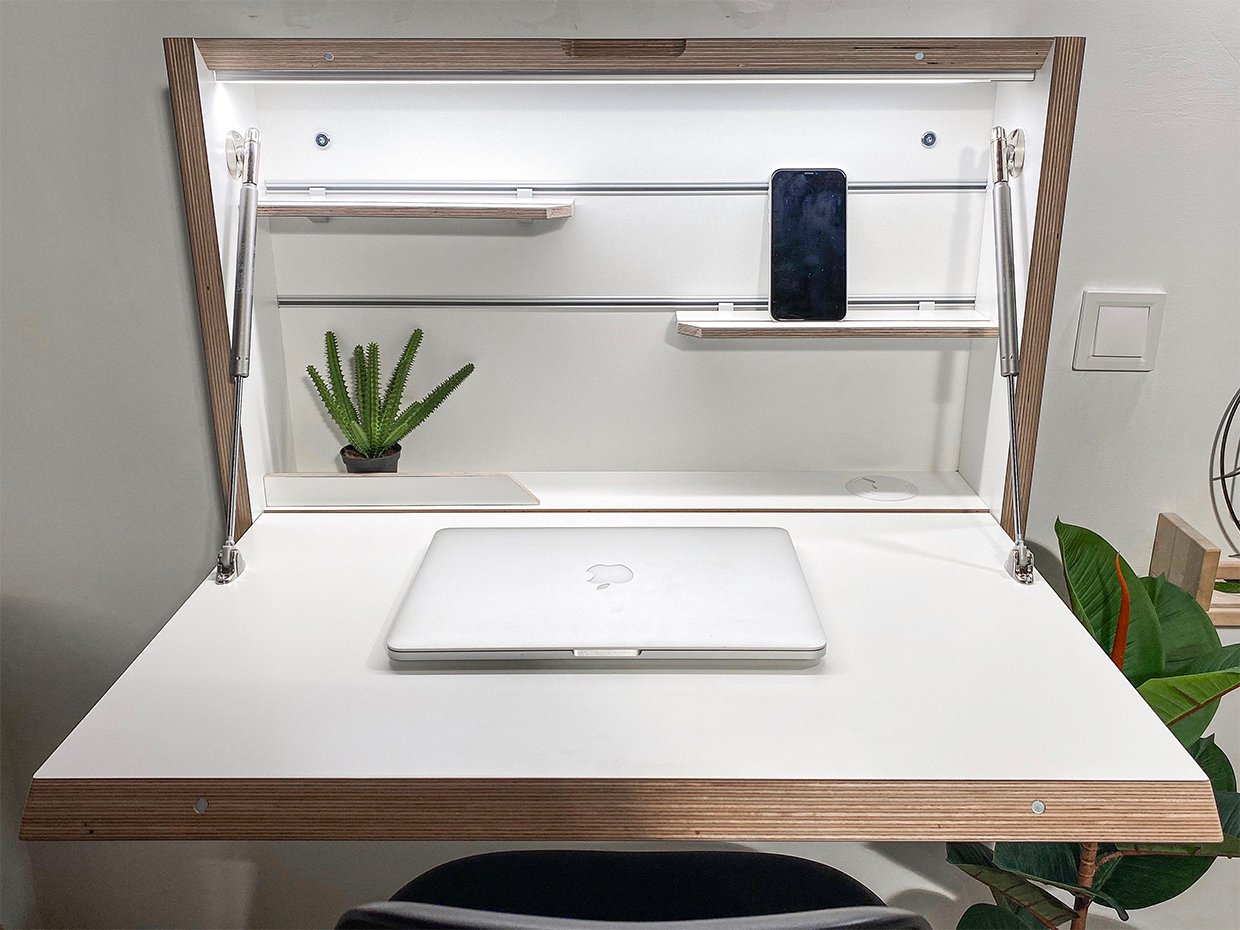 Wall-mount Folding Desk
