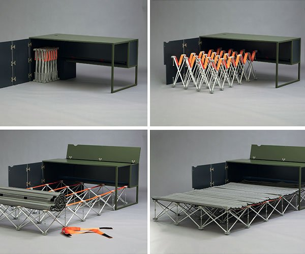 Work/Sleep Balance Desk