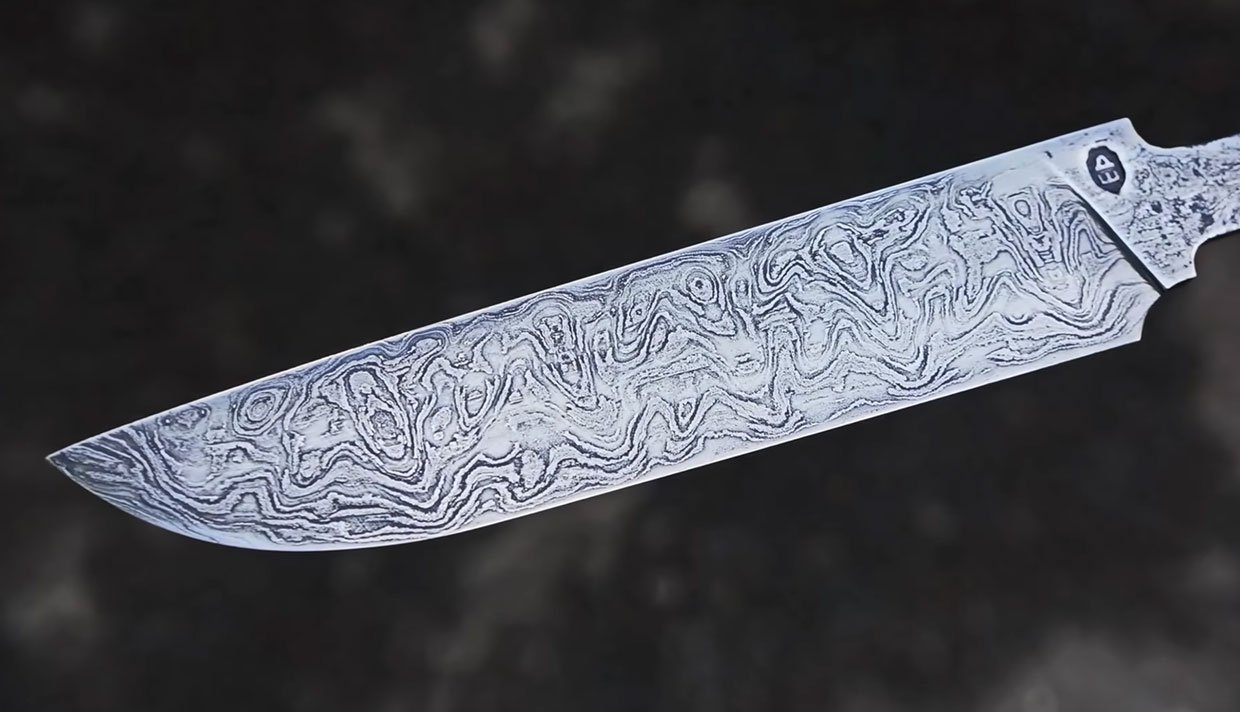 1000 Year-old Damascus Knife