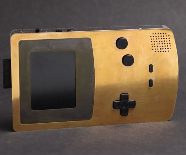 Brass GameBoy Color